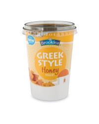 Greek Style Honey Yogurt