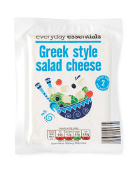 Greek Style Salad Cheese
