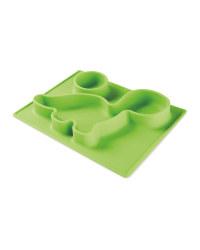Green Dino Non-Slip Silicone Mat