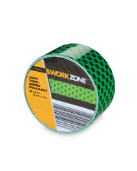 Green Dots Supertough Duct Tape