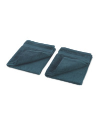 Green Hand Towel 2 Pack