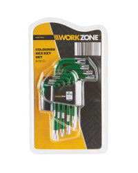 Green Hex Key Set