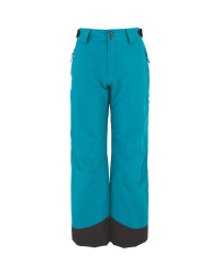 Green Junior Snow Trousers