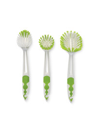 Green Kitchen Brush Set
