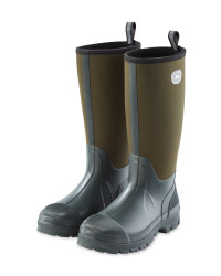 Crane Green Neoprene Boots