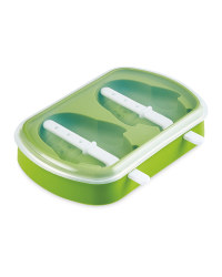 Green Penguin Ice Lolly Mould