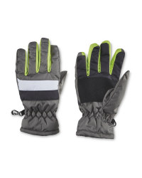 Crane Green Junior Winter Gloves