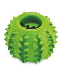 Green Treat Ball Dog Toy