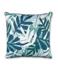 Green Tropical Outdoor Cushion