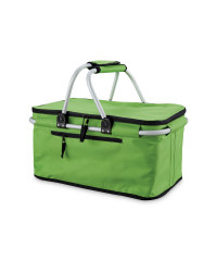 Green-Two Handle Shopping Basket