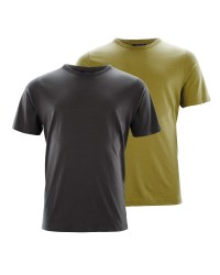 Green/Grey Men's T-Shirt 2-Pack
