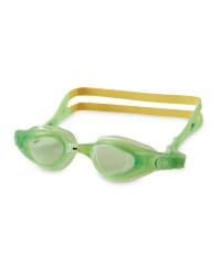 Green/Yellow Children's Goggles