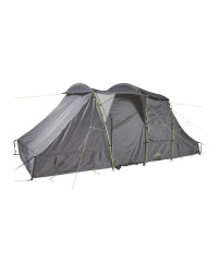 Grey 4 Person Family Tent