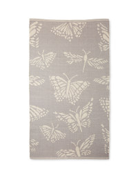 Grey All Over Butterfly Rug
