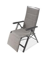 Grey Aluminium Relaxer Chair