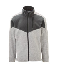 Grey Workwear Men's Fleece Jacket