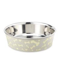 Grey Bones Pet Bowl