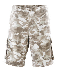 Avenue Men's Camo Cargo Shorts