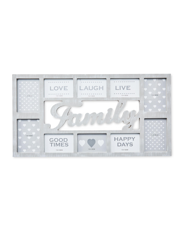 Grey Family Multi Aperture Frame