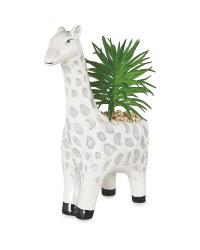 Grey Giraffe Pot Plant