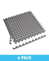 Grey Holes Multipurpose Floor Mats