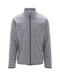 Crane Men's Grey Fleece Jacket