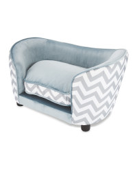 Grey Pet Collection Sofa Pet Bed