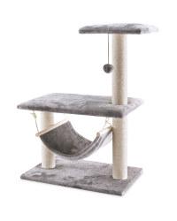 Grey Platform Cat Scratcher