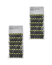 Grey Soft Grip Clothes Pegs 2 Pack