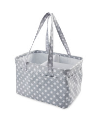 Grey Star Nappy Caddy