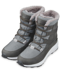 Crane Grey Thermo Boots