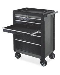 Grey/Black Workzone Tool Cabinet
