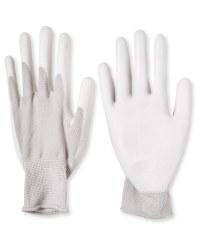 Grey Work Gloves 2 Pack