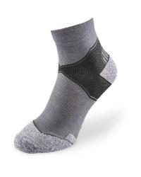 Grey/Black Crew Trekking Socks
