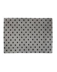 Dots Memory Foam Large Pet Bed