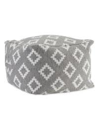 Grey/White Diamond Bean Cube