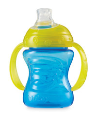 Nuby Grip N Sip Cup - Blue / Yellow