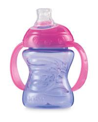 Nuby Grip N Sip Cup - Purple / Pink