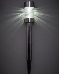 Gunmetal Solar Bollard Stake Light