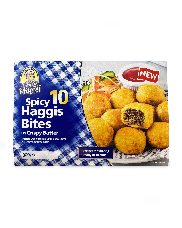 Haggis Bites In Crispy Batter