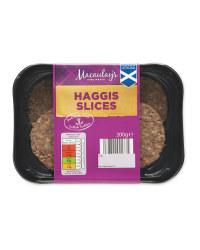 Haggis Slices