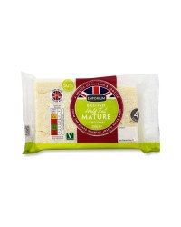 Half Fat Mature Cheddar Cheese