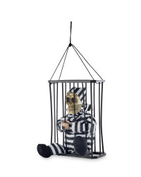Halloween Animated Prisoner in Cage