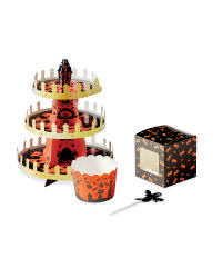 Halloween Magic House Cupcake Set