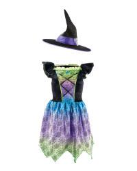 Halloween Magic Kids' Witch Costume