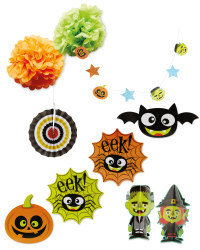 Halloween Magic Room Decoration Kit