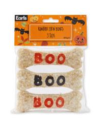 Halloween Rawhide Bones