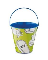 Trick Or Treat Mummy Tin Bucket
