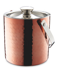 Hammered Ice Bucket - Copper