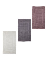 Handloom Luxury Bath Mat